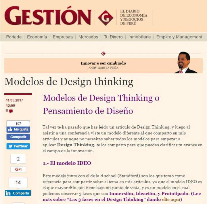escuelas de design thinking
